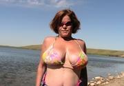 big tits cougar misha