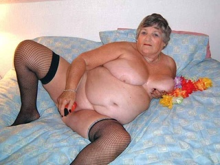 bbw grandma libby from