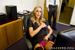 Brandi is a cruel, mean, and bitchy boss - XXX Dessert - Picture 5