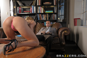 Krissy Lynn is applying for a clerical p - XXX Dessert - Picture 7