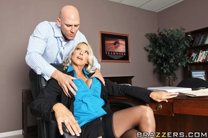 Johnny is pissed when the HR manager Emm - XXX Dessert - Picture 7