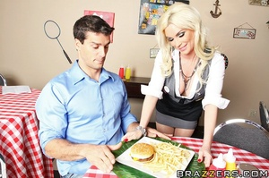 "Diamond is a waitress at a ""fun"" restaur - XXX Dessert - Picture 5"