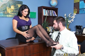 Charles knows his boss Sophia sleeps aro - XXX Dessert - Picture 7