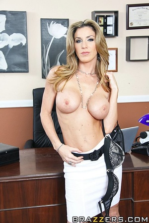 Kayla is stuck working in her office all - XXX Dessert - Picture 2
