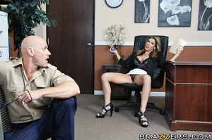 Kayla is stuck working in her office all - XXX Dessert - Picture 6
