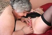 granny fingering grandma libby