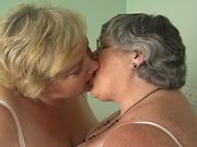 bbw pussy licking grandma