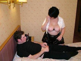 milf big tits double