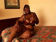 chunky ebony bbw fatty