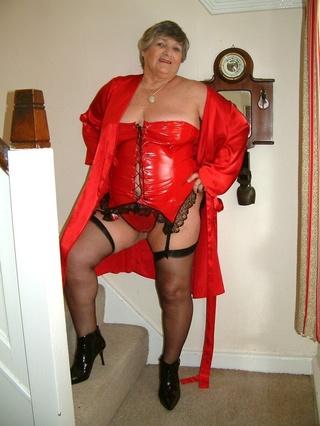 striptease grandma libby from