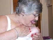 granny striptease grandma libby