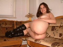 amateur, boots, teen, tiny tits
