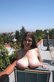 big tits flashing denise