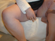 bbw pantyhose chris from