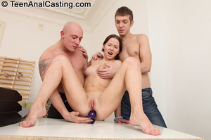 She just loves getting her juicy pussy double penetrated. - XXXonXXX - Pic 1