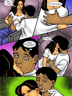 Awesome collection of Indian porn comics with dirty - Picture 3