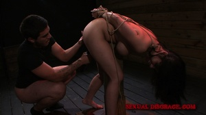 Lovely Asian chick with her hands tied b - XXX Dessert - Picture 9