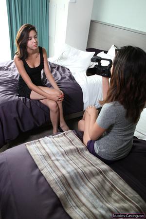 Lovely brunette teen shooting on cam her - XXX Dessert - Picture 1