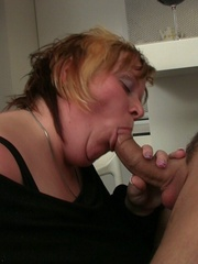 All that fat on her BBW body bounces and jiggles as she - Picture 8