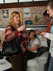 The beautiful BBW party shows hot fat chicks sucking and - Picture 2
