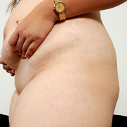 Chunky Asian Pla shows her fat pussy - Picture 13