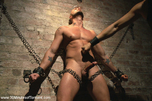 He loves getting hardcore leashed and pu - XXX Dessert - Picture 3