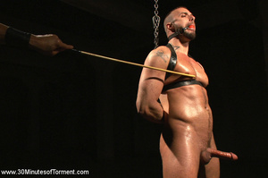 He loves getting hardcore leashed and pu - XXX Dessert - Picture 5