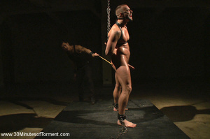 He loves getting hardcore leashed and pu - XXX Dessert - Picture 7