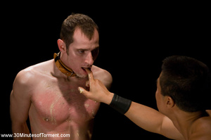 This guy gets hardcore leashed and punis - XXX Dessert - Picture 10