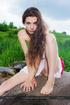 stunning brunette teen exposing