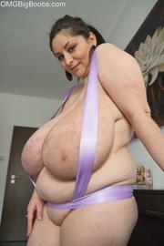seductive brunette whore wrapped