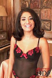 petite latina babe posing