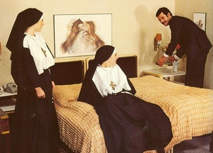 Two lustful nuns sharing priest's cock w - XXX Dessert - Picture 3