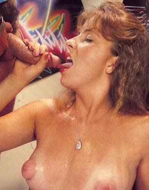Slutty redhead drinking hot jizz from a  - XXX Dessert - Picture 5
