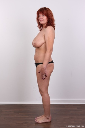 Hot matured sexy redhead milf shows big  - XXX Dessert - Picture 10