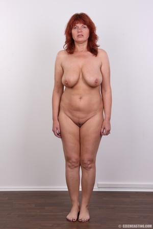 Hot matured sexy redhead milf shows big  - Picture 14
