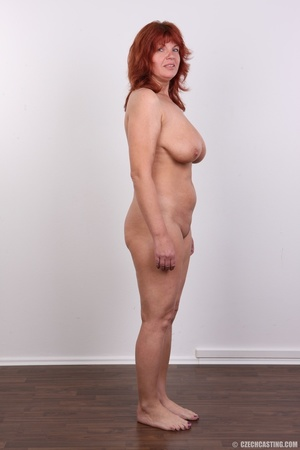 Hot matured sexy redhead milf shows big  - Picture 15