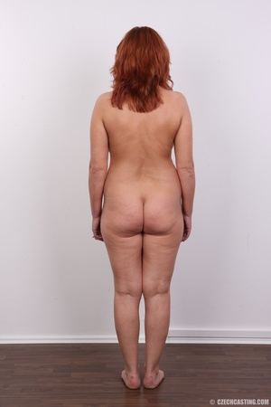 Hot matured sexy redhead milf shows big  - XXX Dessert - Picture 16