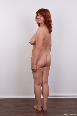 Hot matured sexy redhead milf shows big  - XXX Dessert - Picture 17