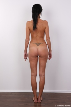 Slim black hair beauty with sexy small t - XXX Dessert - Picture 16