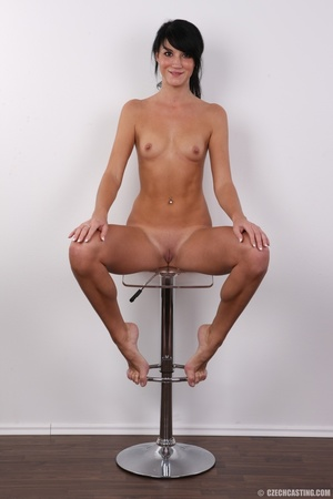 Slim black hair beauty with sexy small t - XXX Dessert - Picture 19