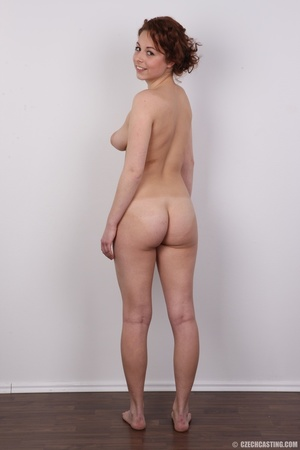 Sweet smiling redhead with amazing curve - XXX Dessert - Picture 17