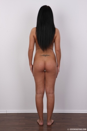 Sexy shaped damsel with cute tattoos, pi - XXX Dessert - Picture 16