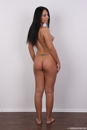 Sexy shaped damsel with cute tattoos, pi - XXX Dessert - Picture 17