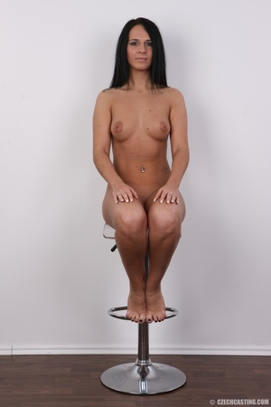 Sexy shaped damsel with cute tattoos, pi - XXX Dessert - Picture 18
