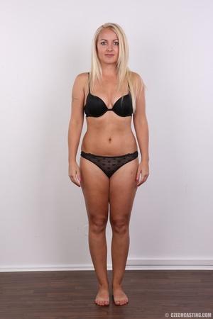 Blonde with tattoo above sweet butt show - XXX Dessert - Picture 4