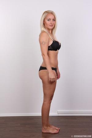 Blonde with tattoo above sweet butt show - XXX Dessert - Picture 5