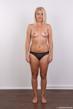 Blonde with tattoo above sweet butt show - XXX Dessert - Picture 7