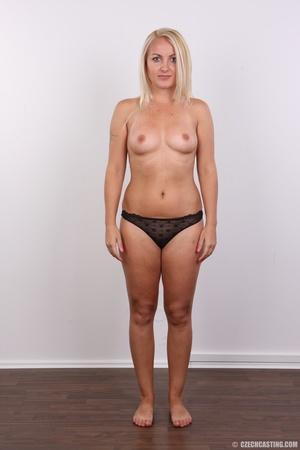 Blonde with tattoo above sweet butt show - XXX Dessert - Picture 7