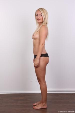Blonde with tattoo above sweet butt show - XXX Dessert - Picture 8